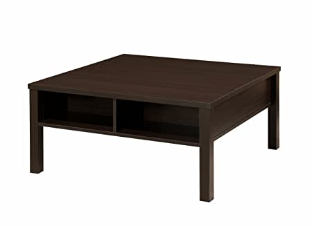 Furniture of America Contemporary Croswell Modern Coffee Table, Cappuccino