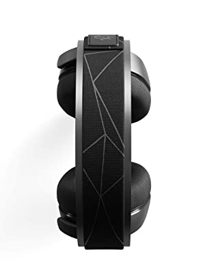 SteelSeries Arctis 7 (2019 Edition) Lossless Wireless Gaming Headset with DTS Headphone:X v2.0 Surround for PC and PlayStation 4 - Black (Color: Black)