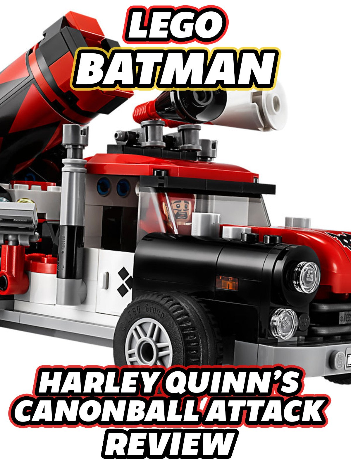 Clip: Lego Batman Harley Quinn Canonball Attack Review