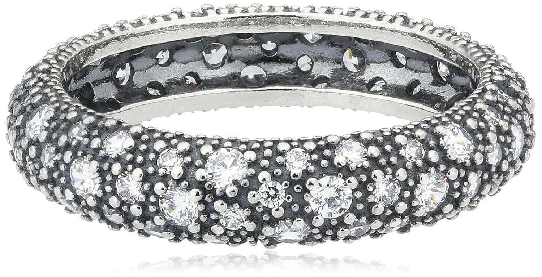 Pandora Damen-Ring 925 Silber Zirkonia transparent 190915CZ als Geschenk