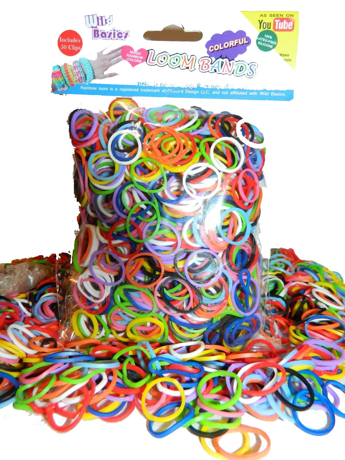 Rainbow Rubber Band Bracelets: Be In The Loop  Press Releases