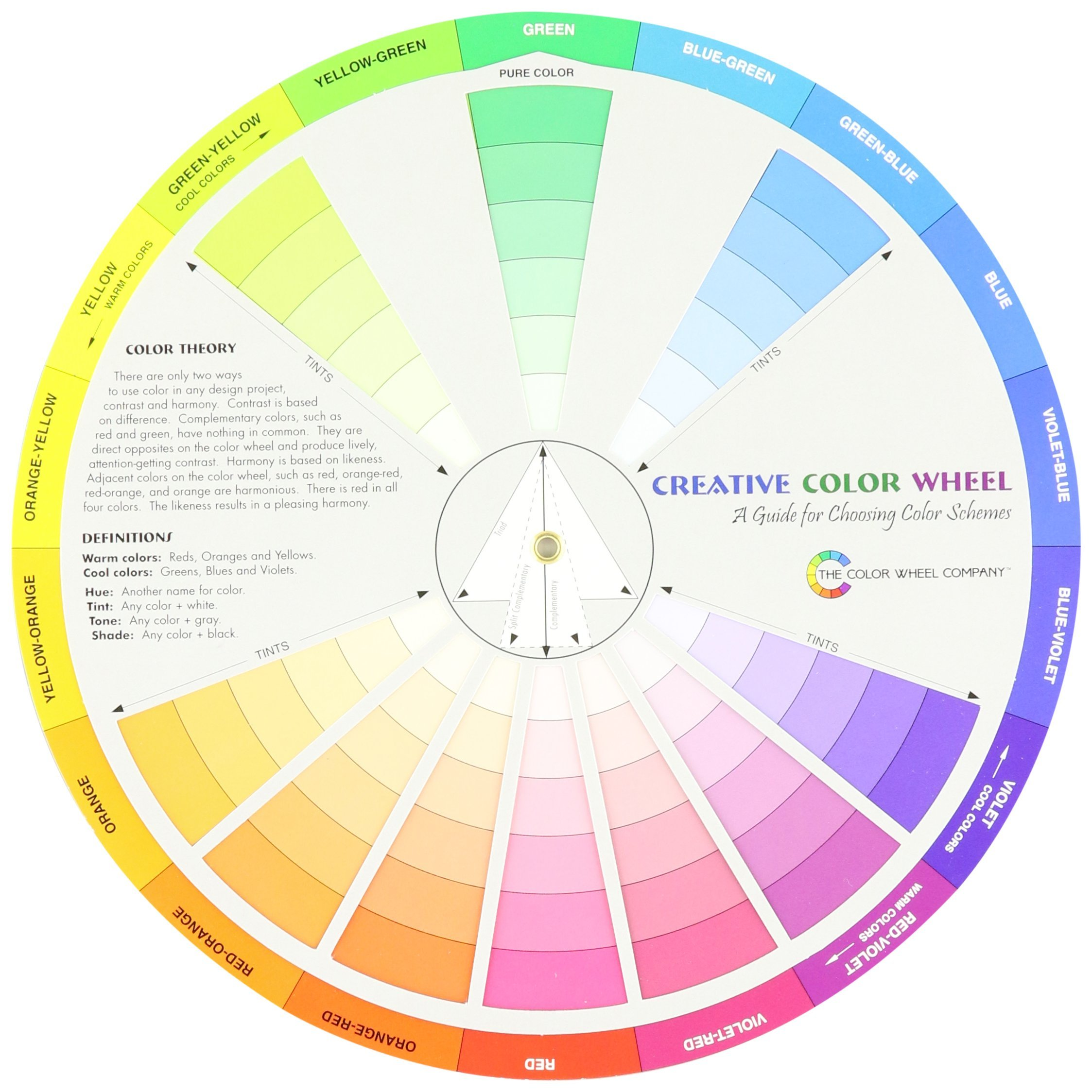 Galleon Creative Color Wheel