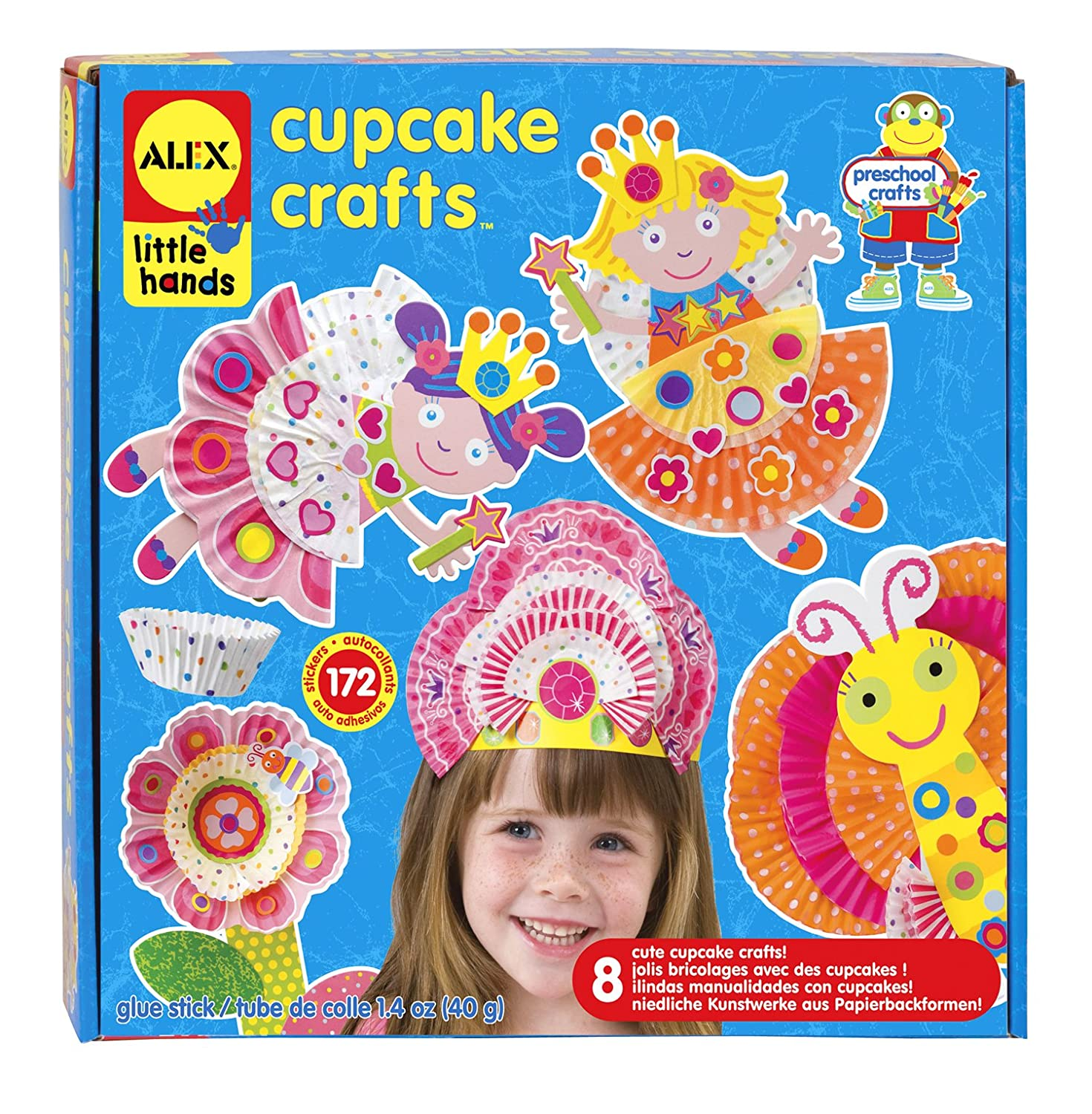 ALEX Toys Early Learning Cupcake Craft Kit
