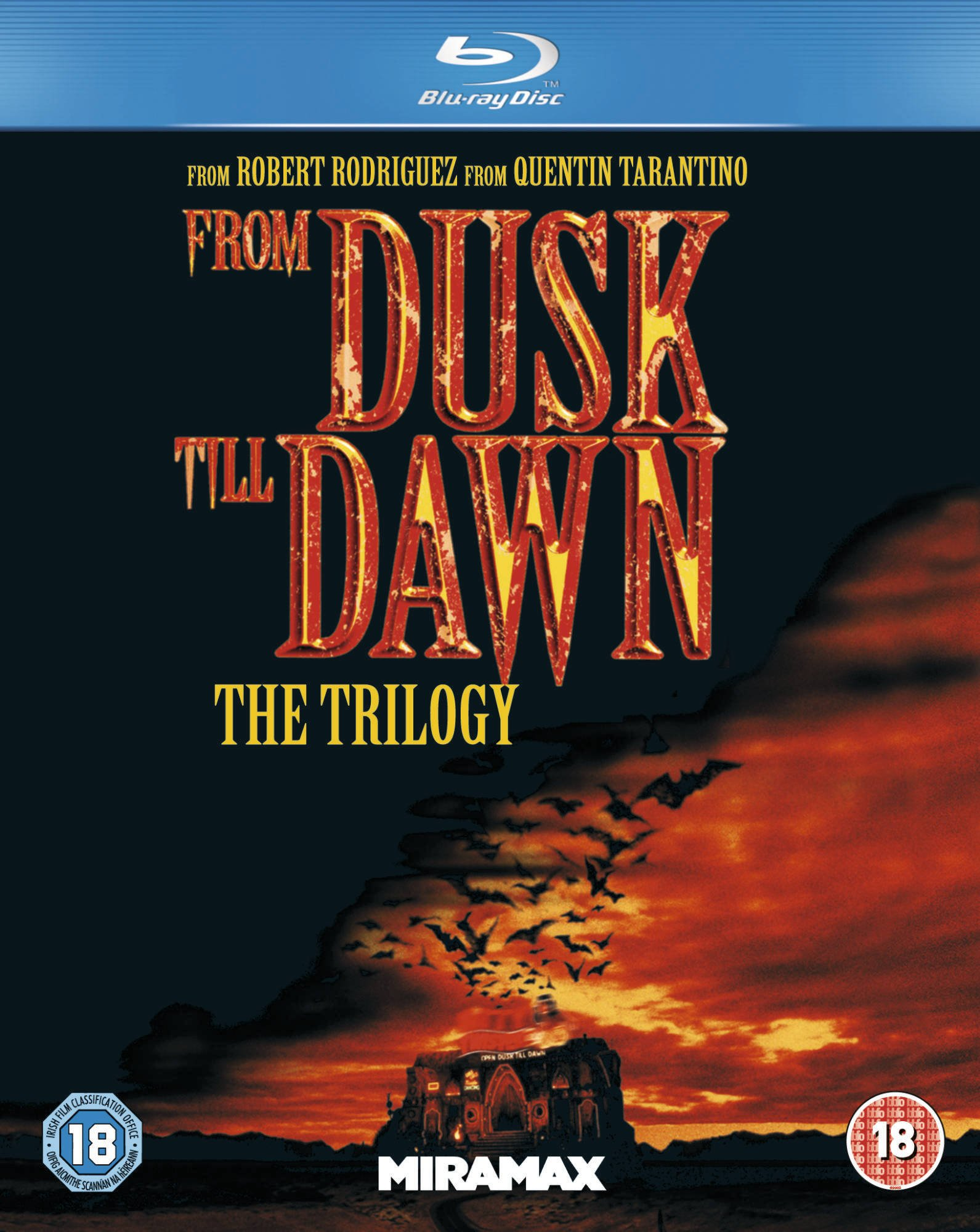 From Dusk Till Dawn 1-3 Blu-ray
