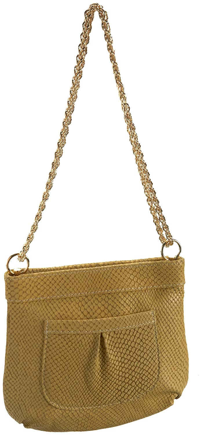 Lauren Merkin Tess Snake-Print Evening Bag $55.95