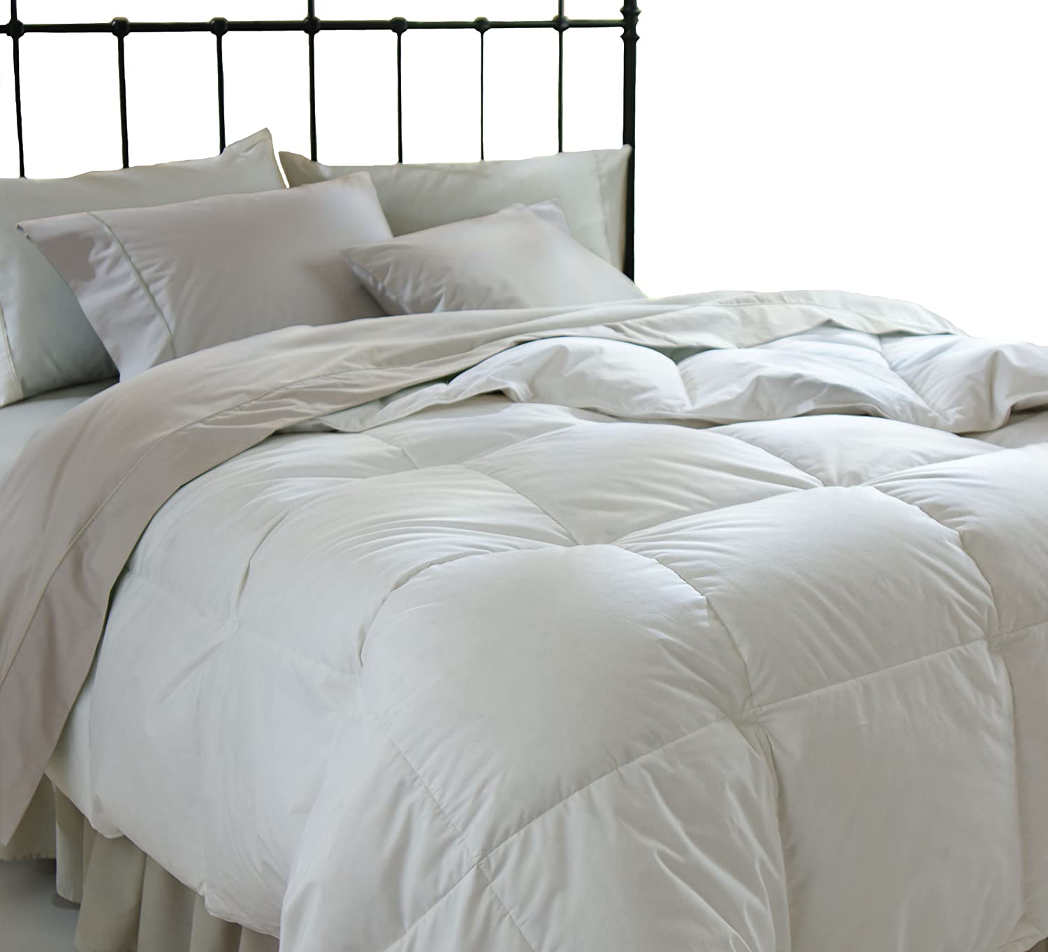 All Season Down Alternative Full/Queen Comforter, White $34.99