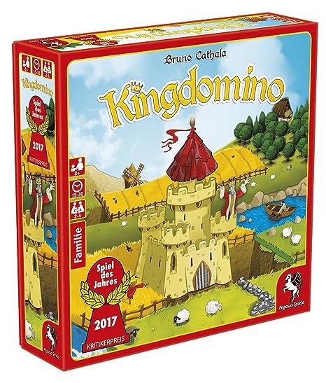 Pegasus Spiele 57104G–King Domino, jeu de l'année 2017