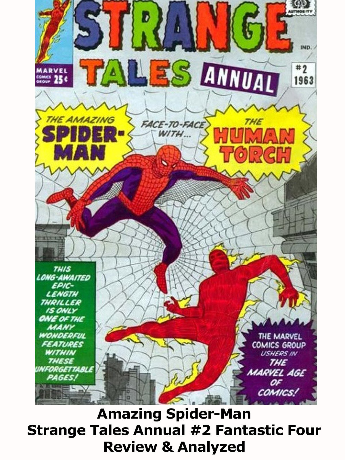 Review: Amazing Spider-Man Strange Tales Annual #2 Fantastic Four