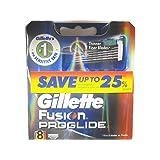 Gillette 50101-1 Fusion Proglide Mens Refill Cartridge Blades - 8 Count