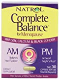 Natrol Complete Balance A.M./P.M. Formula for Menopause, 30 Count Each