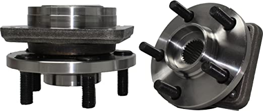 Detroit Axle: Front Wheel Hub Bearing Assembly 513075 - 5 Lug (Pair of 2)