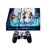 Sailor Moon Premium Designer Limited Edition Playstation 4 Skin + 2 Free PS4 Controller Skins