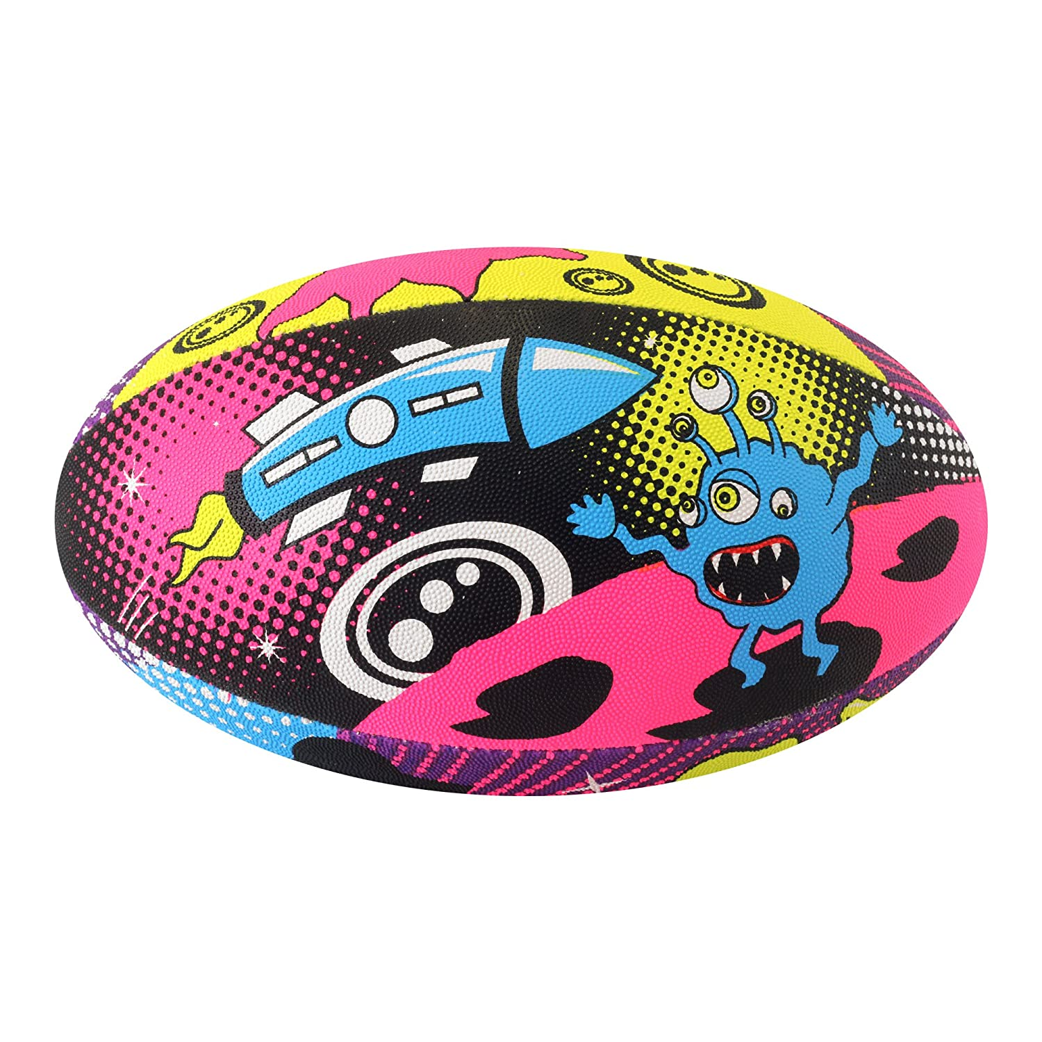 Rugby Ball Street Space Monster Rugby Ball