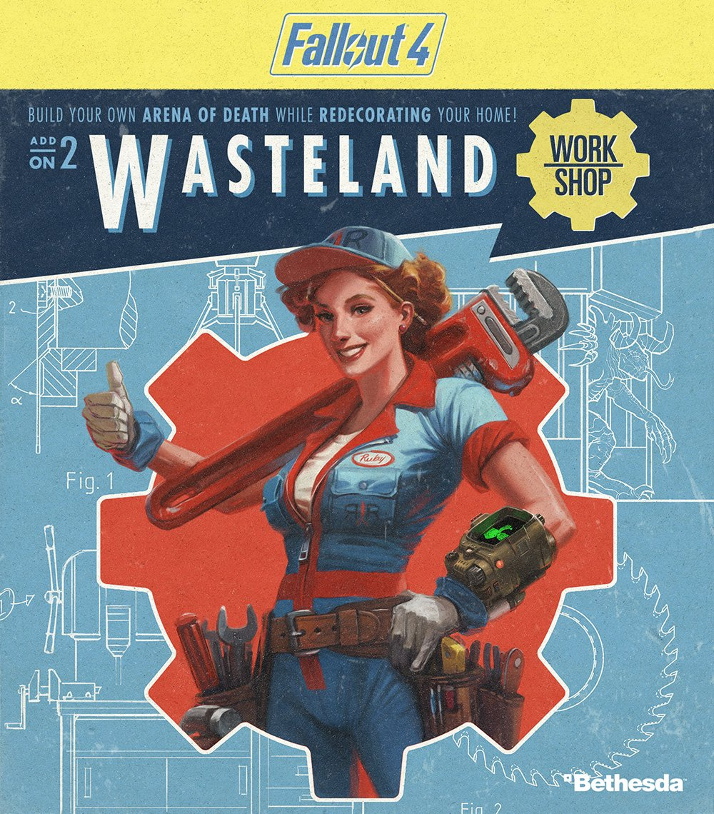 Fallout 4: Wasteland Workshop - PS4 (Digital Code)