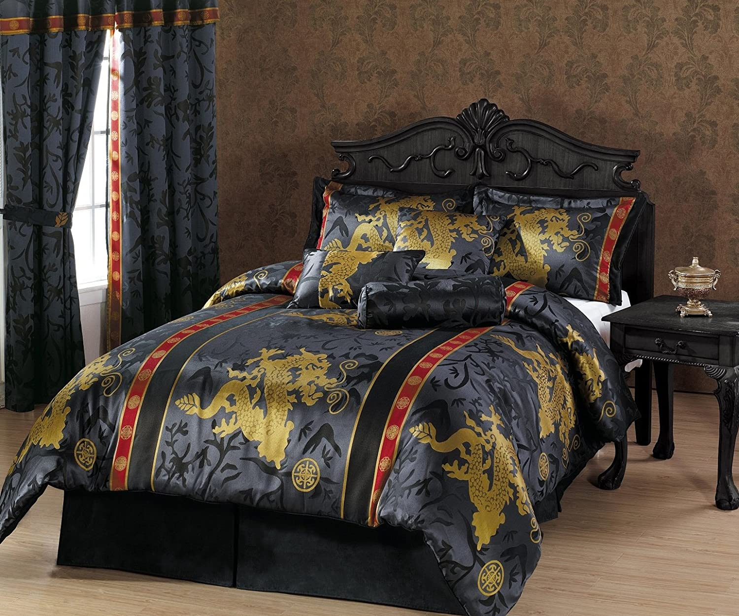 Dragon Bedroom Dragon Decor Ideas - Chinese dragon comforter set