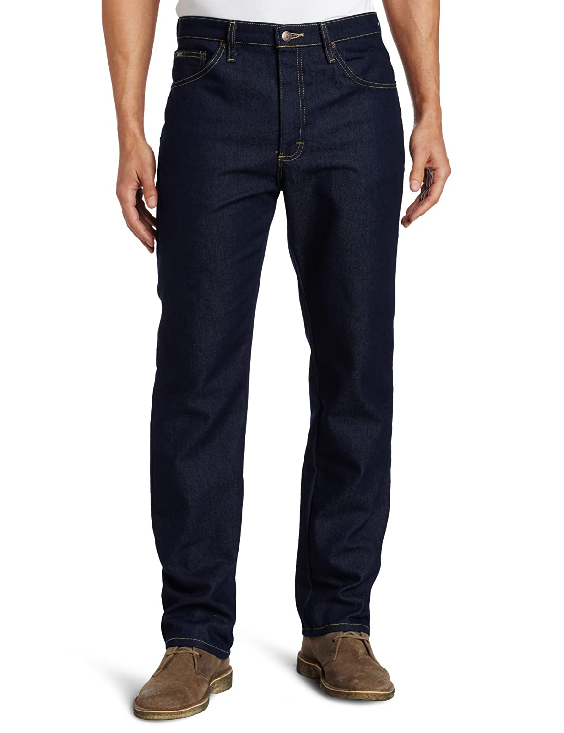 Lee Mens Regular Fit Stretch Jeans - Indigo
