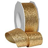 Morex Ribbon 98509/25-634 Metallic Princess Glitter, 1-1/2