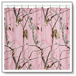 AP Pink Shower Curtain