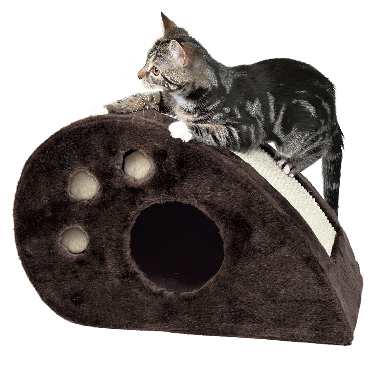 Trixie DreamWorld Topi Scratching Mouse Cat Scratcher & Condo