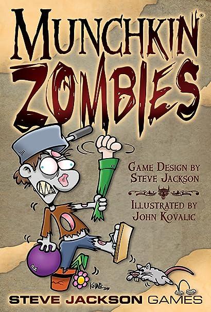 Munchkin - 332180 - Jeu De Cartes - Zombies
