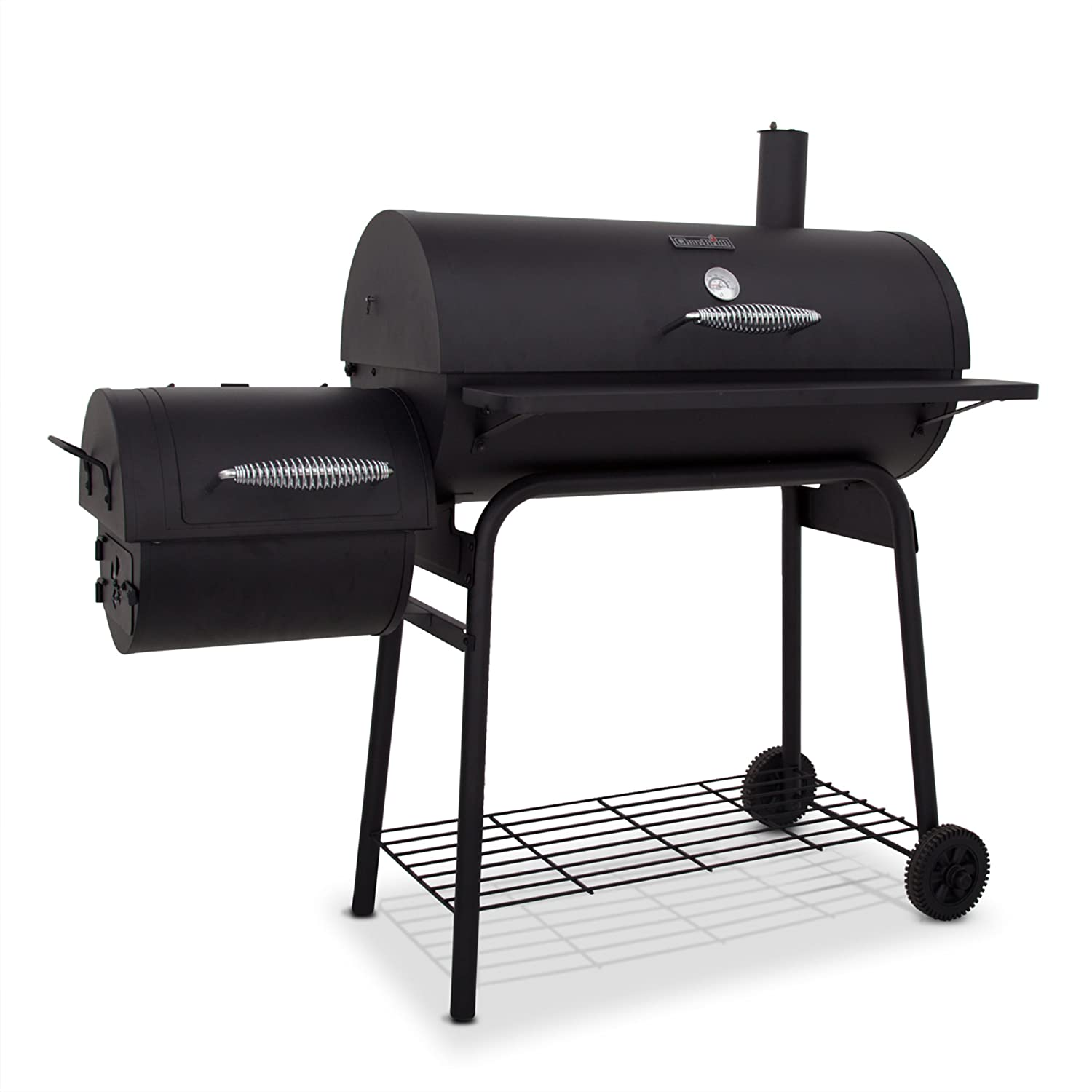 char broil american gourmet 400 series offset smoker outdoor bbq charcoal grill ebay. Black Bedroom Furniture Sets. Home Design Ideas