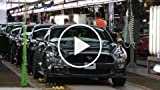 2015 Ford Mustangs for Export at Flat Rock Assembly...