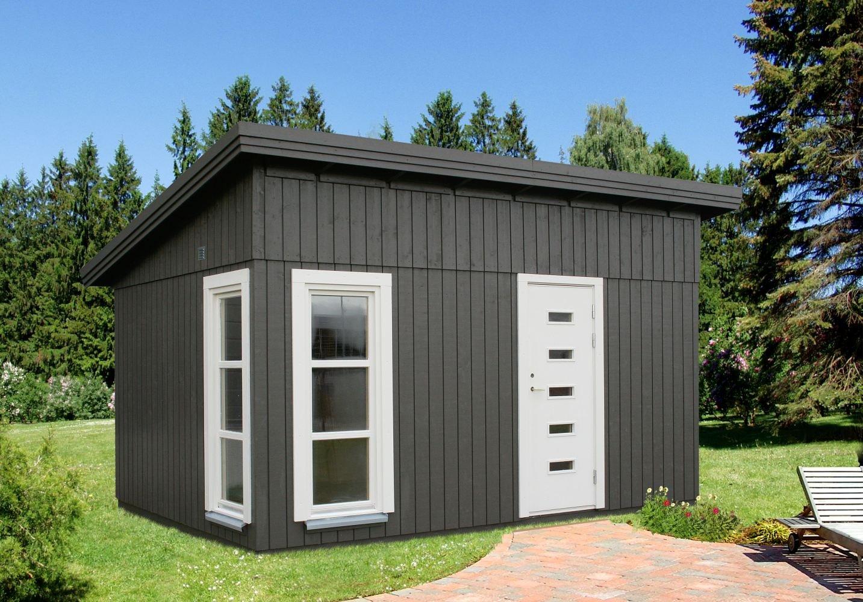 Gartenhaus Pultdach Holz