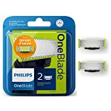 Philips - Trimming Cutters Philips ONEBLADE (2 pcs) (Color: Multicolor, Tamaño: One Size)