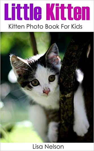 Little Kitten: Kitten Photo Book for Kids (Babies Animals by Lisa 1)
