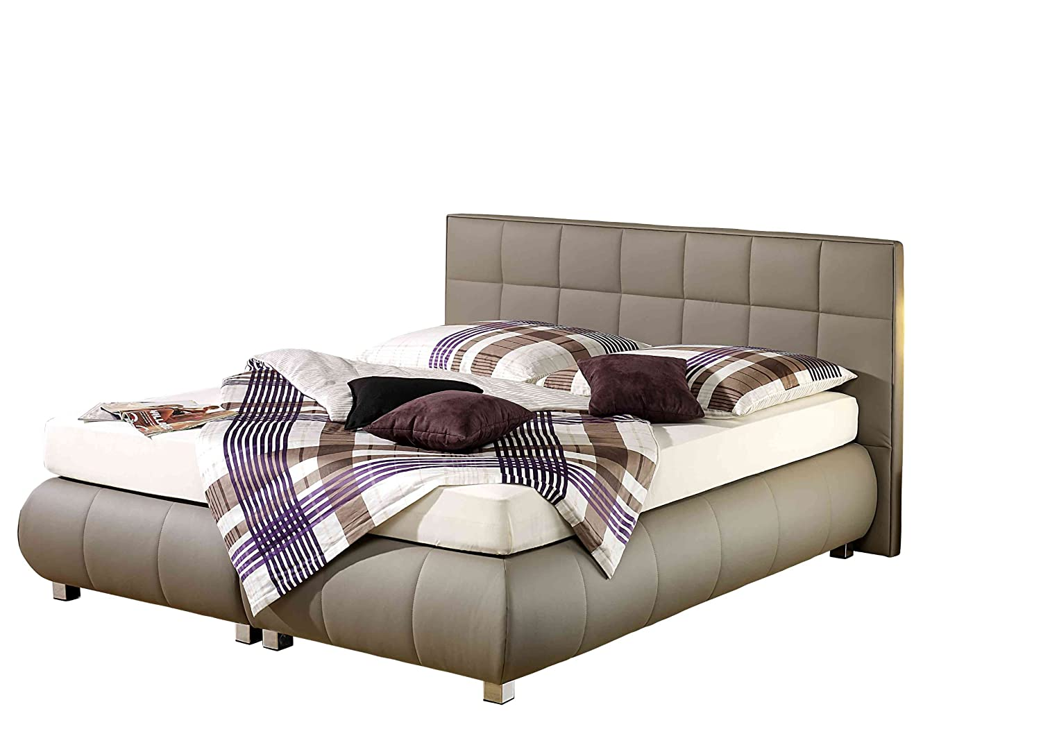Maintal Betten 234204-4130 Boxspringbett Elias 180 x 200 cm, taupe