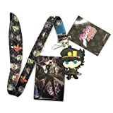 Great Eastern Entertainment JoJo's Bizarre Adventure- Group Lanyard, One Size, Multicolor (Color: Multicolor, Tamaño: One Size)