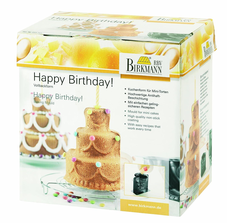 Birkmann 211773 Happy Birthday!, mit Antihaftbeschichtung,