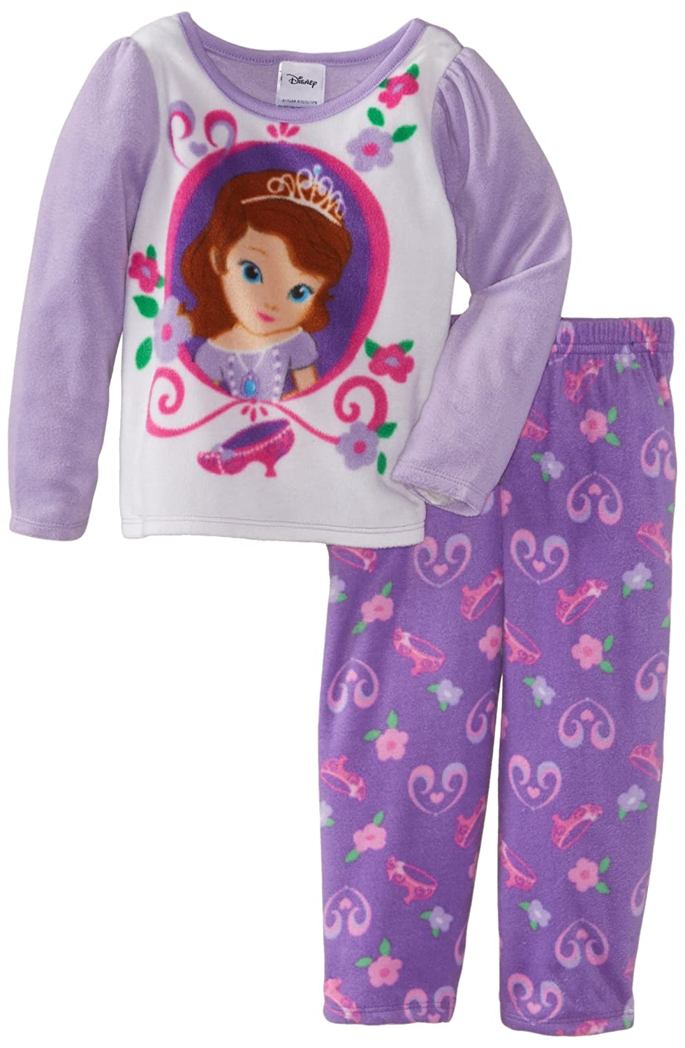 Sofia the First Girl's 2-6X Toddler Princess Sofia Fleece Pajama Set игровой набор disney sofia the first дворец bdk61