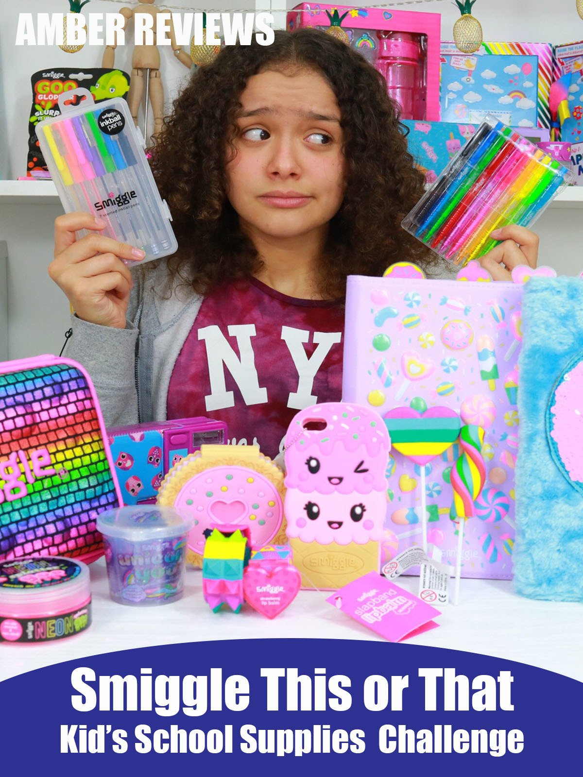 Amber Reviews Smiggle This or That School Supplies Challenge