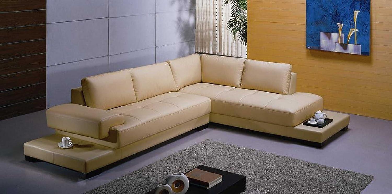 Vig Furniture 2226 Beige Sectional Sofa Set
