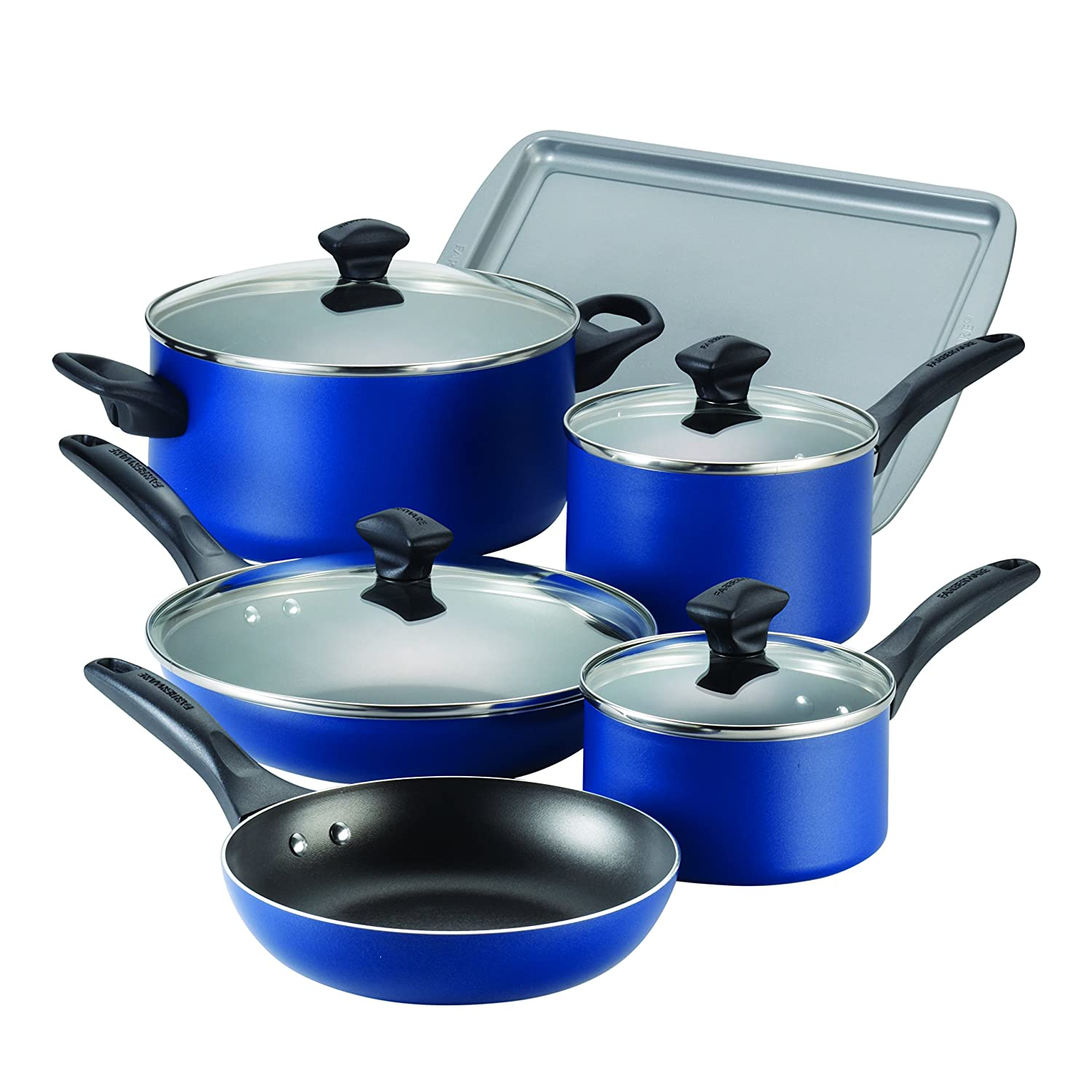 Farberware Dishwasher Safe Nonstick Aluminum 15-Piece ...