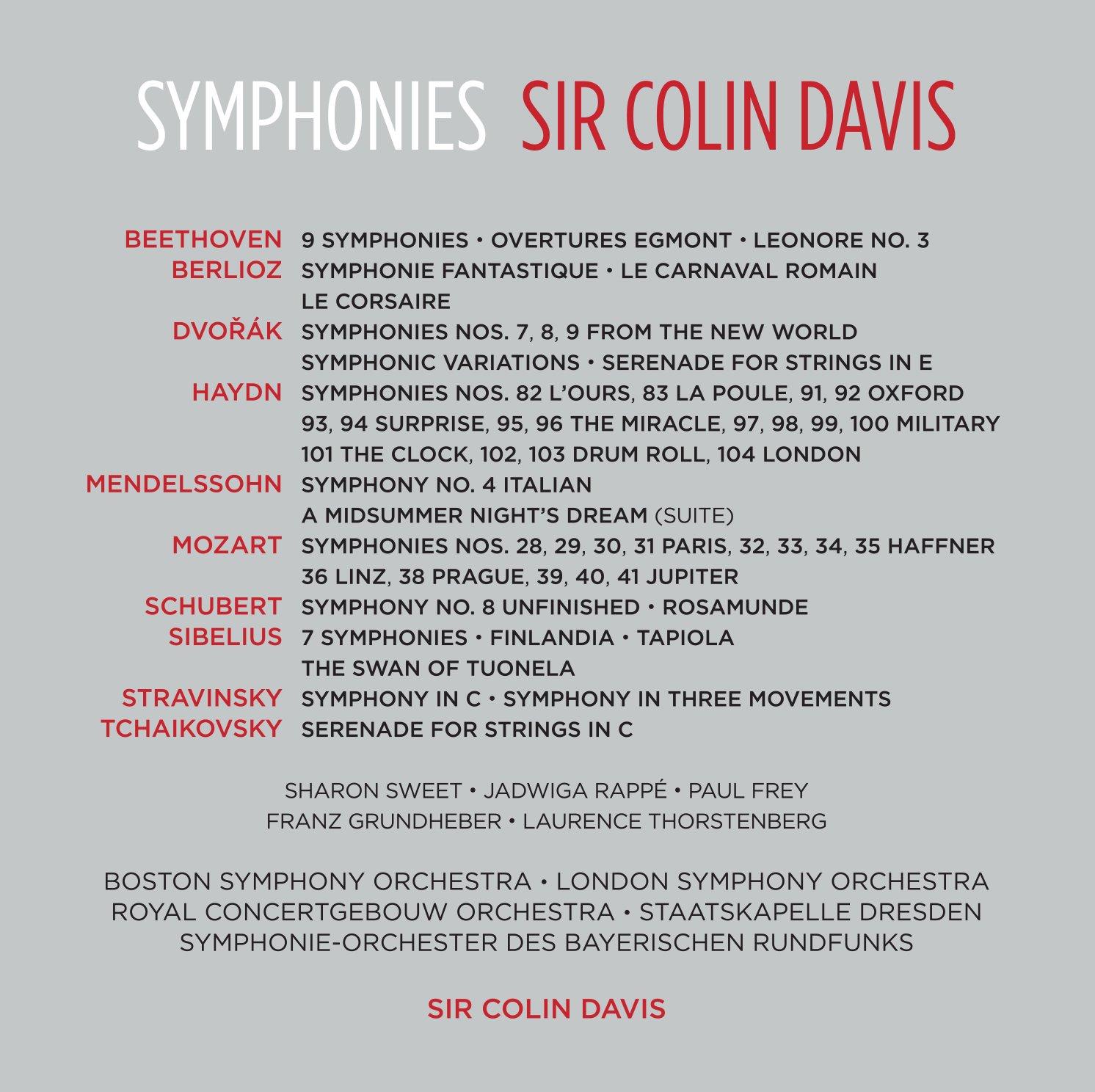 Sir Colin DAVIS (1927-2013) 81U6Y9KlmIL._SL1492_