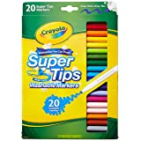 Crayola 58-8106 20CT Super Tips Washable Marker (Pack of 2) (Tamaño: 2 Pack)