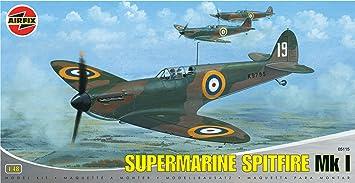 Airfix - A05115 - Construction et Maquettes - Bâtiment - Supermarine Spitfire MkI/ MkIIa