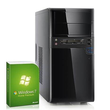 CSL Unité Centrale Sprint H5766f (Quad) comp. Windows 7 - AMD A8-6600K APU 4x 3900 MHz, RAM 8Go, HDD 1000Go, Radeon HD 8570D - Un système adéquat pour chaque tâche ils veulent