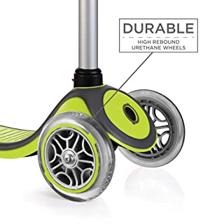 Green//Gray Globber Primo 3 Wheel Adjustable Height Scooter
