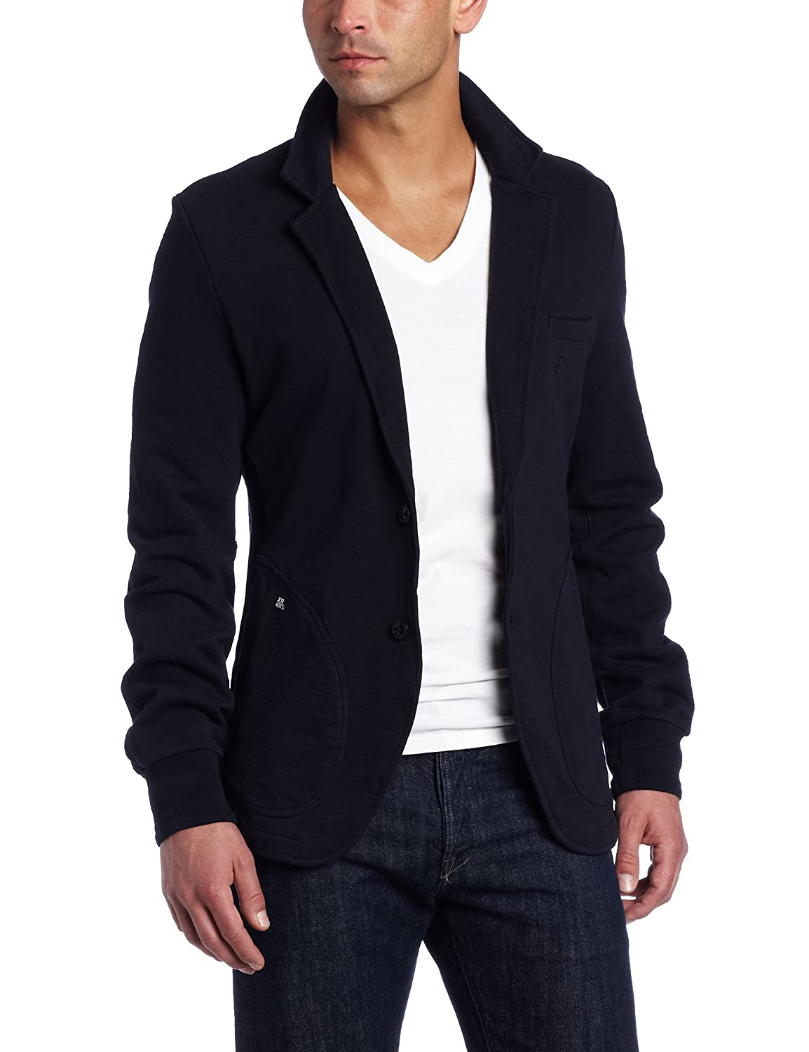 J.C. Rags Men's Mixed Up Sweat Blazer