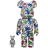 Medicom Toy - Be@rbrick - Keith Haring - Set of 2 - 400% and 100%