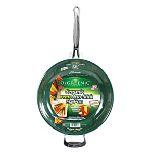 orgreenic green non stick frying pan reviews