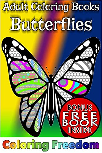 Adult Coloring Books: Butterflies