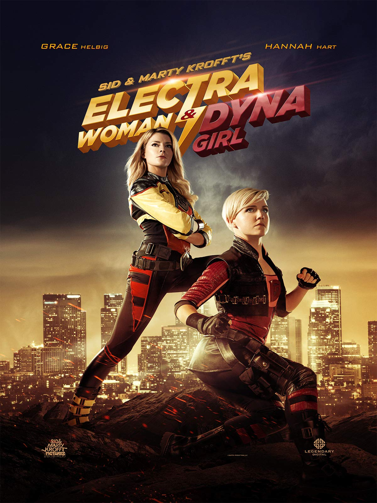 Electra Woman & Dyna Girl on Amazon Prime Instant Video UK