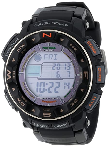 Casio Men's PRW2500-1 Pro-Trek Tough Solar Digital Watch-奢品汇 | 海淘手表 | 腕表资讯