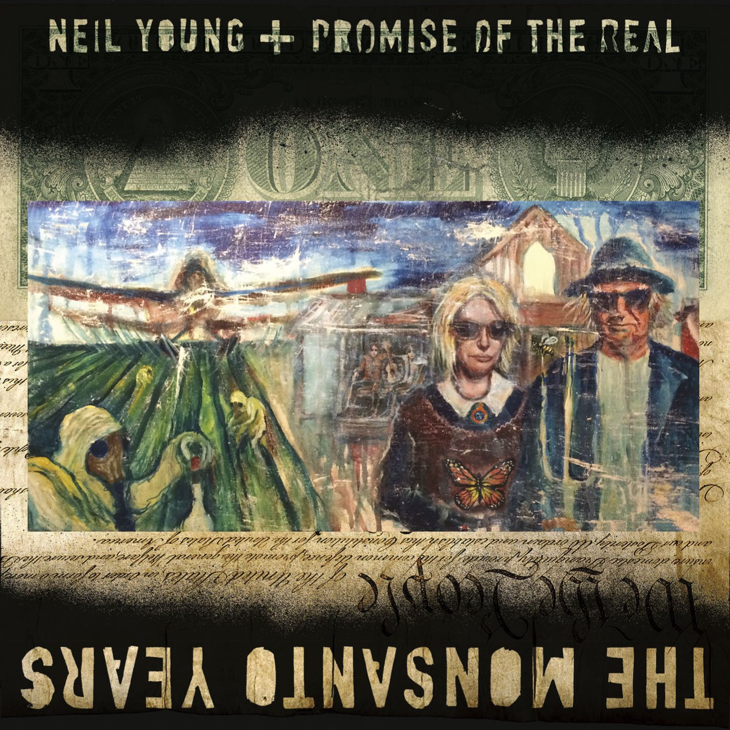 The Monsanto Years (CD/DVD) нил янг promise of the real neil young promise of the real the monsanto years cd dvd
