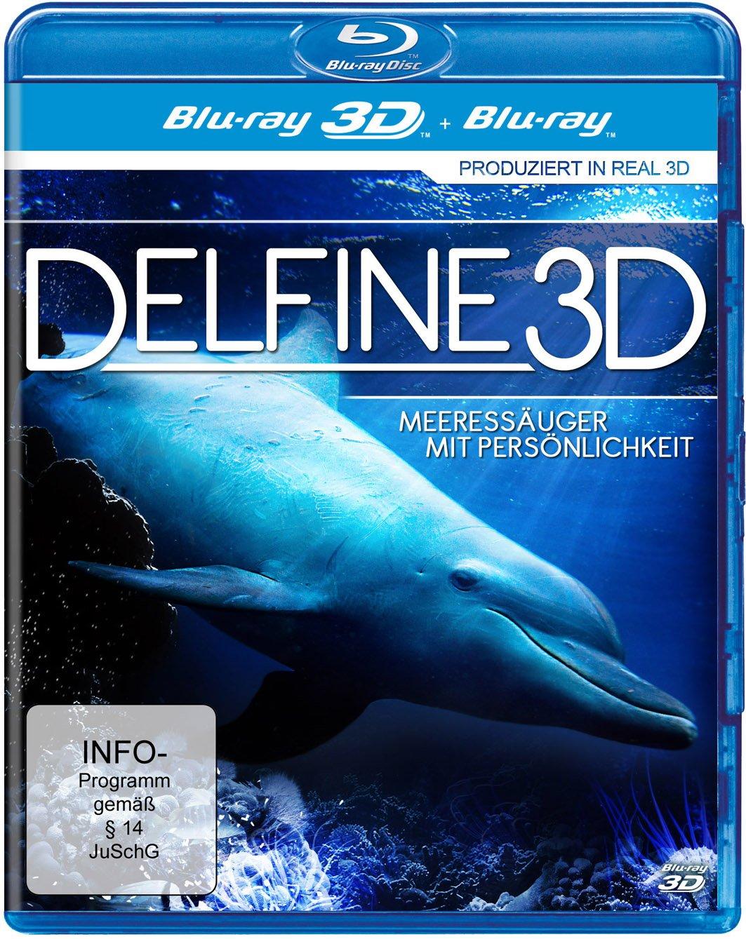 Дельфины 3Д / Dolphins 3D (2013) [Blu-ray 2D/3D, 1080p, BD3D]