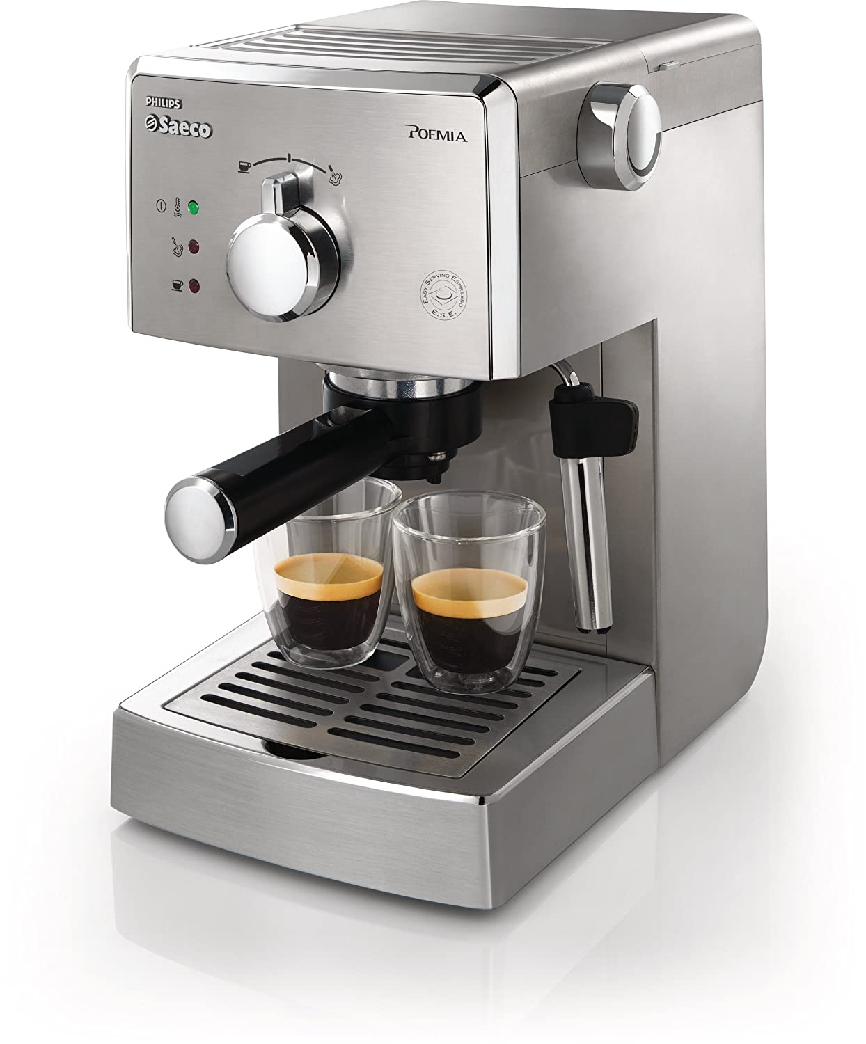 Electronic Saeco Coffee Machine Prices buy philips saeco hd832747 poemia top espresso machine stainless steel online at low prices in india amazon in
